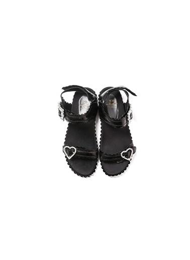 Scb Sandalet Siyah